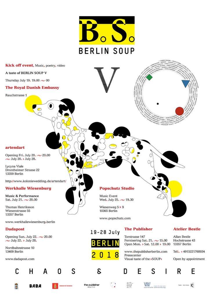 Berlin Soup Poster 2018