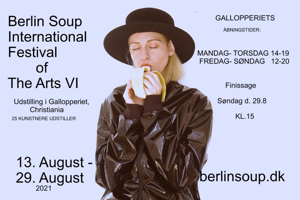 Berlin Soup 2021 plakat 13-29 august
